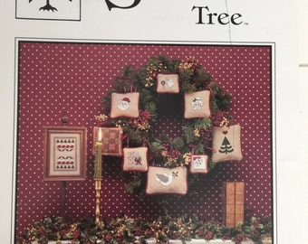 The Sweetheart Tree Cross Stitch Design Crafts Pattern Christmas Collection I