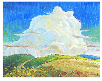 Vermont Horizon Giclee Fine Art Print of Original Oil Painting