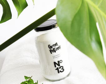 Green Potion No.13 Laundry Powder - Eco Friendly Cleaning Products