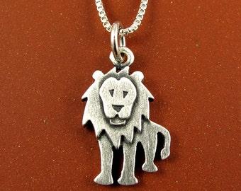 Tiny lion necklace / pendant