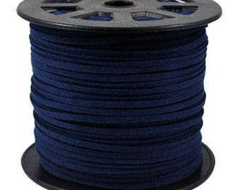 Navy Blue cord 3mm sold per 1 M