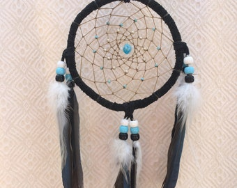 Blue Bird Dream Catcher