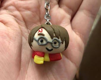 Harry Potter Polymer Keyring
