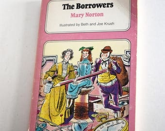 Vintage Children's Book, The Borrowers