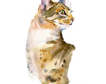 Custom Pet Portrait - Original Art -11x14in - Watercolor Painting - Art -  Cats and Dogs