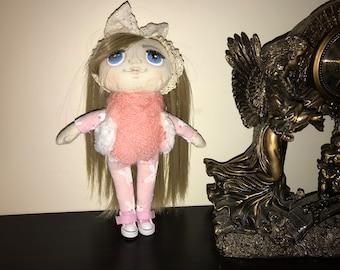 Interier poupée, poupée, poupée de textile