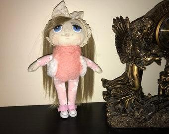 Interier doll, handmade doll, textile doll