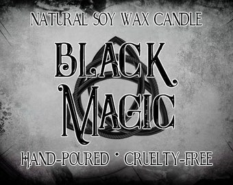Black Magic Soy Candle