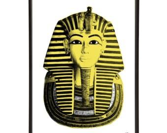 Ancient Egypt Tutankhamun Pop Art Print