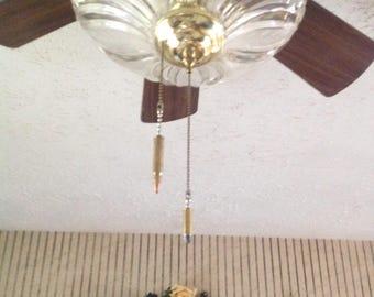Bullet Fan or Light Pulls