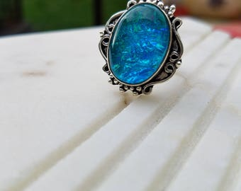Opal Handmade Ring