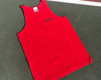 90s Vintage Athletic Wilson Tank Shirt