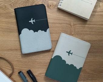 Passport - Let's go travel - Couple - Passport cover - Couple passport cover - Travel gift - Leather passport cover| VIG-PPC-052-Perfcase