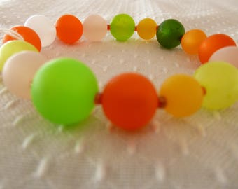 Colorful kids bracelet