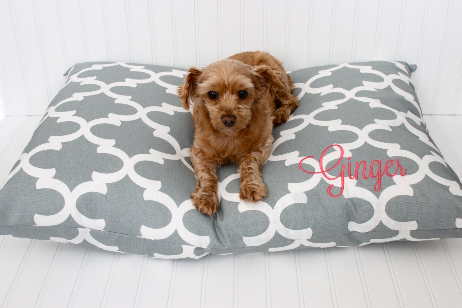 covered dog bed bed cover personalized pillow cover pet bed cover 28760