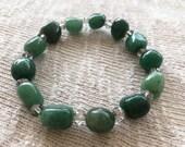 Green Quartz Bracelet, St...