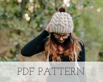 Liesel Knitting Hat PATTERN