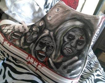 Walking Dead Converse Shoes