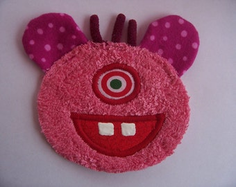 One Eye Pink Monster Patch