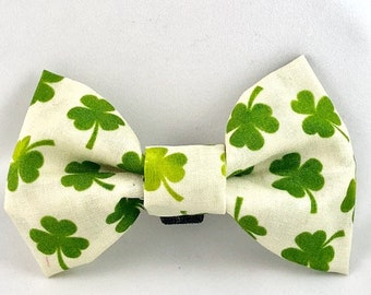 St. Patrick's Shamrock Dog/Cat Bow Tie