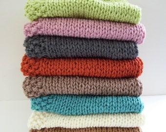 Newborn Photo Prop, Baby Blanket, Basket Filler, Chunky Blanket, Basket Stuffer, Layering Blanket, Mini Blanket, Car Seat Blanket
