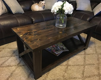 Small Coffee Tables Etsy - Barn house coffee table