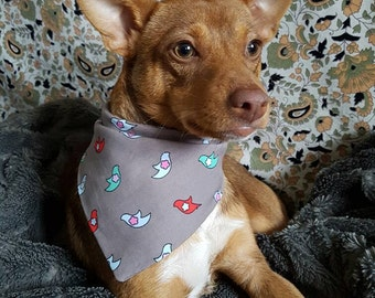 The Dove Bandana, pet bandana, pet gift, dog gift, dog fashion