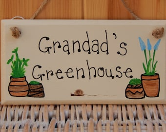 Father's Day gift, Gardener's gift,  Gifts for him, Gifts for Dad, Gifts for Grandparents. Gardening sign, Personalised Father's Day gift