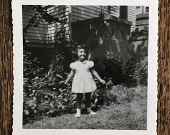 Original Vintage Photograph Lady Lolly