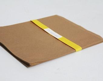 Kraft Paper Bags Lot of 25 8.5x11