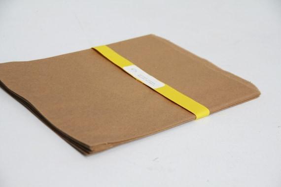 8.5x11 Kraft Paper Bags Lot of 50