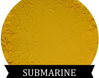 Matte Yellow Eyeshadow  SUBMARINE Mineral Makeup
