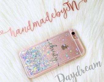 Moving Glitter Phone case Samsung galaxy s9 case Samsung galaxy s9+ Plus case iPhone 7 plus case iPhone 8 plus case iPhone x case