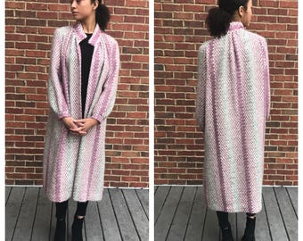 Vintage Sweater Duster