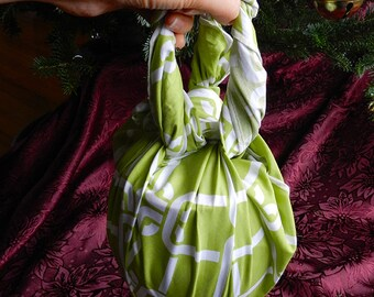 Beautiful furoshiki made with recycled fabrics