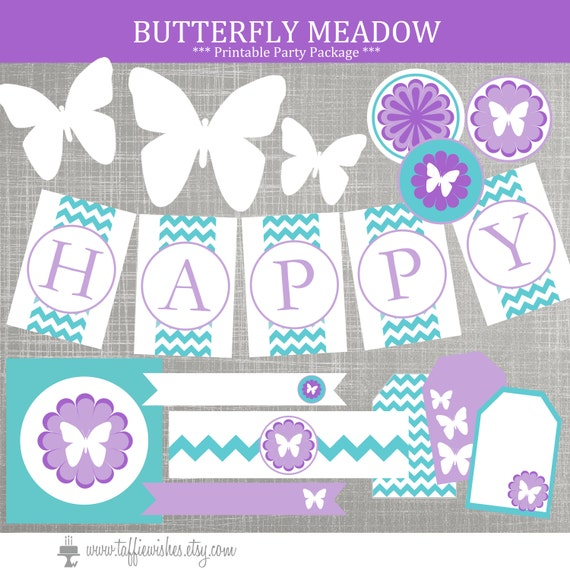 Butterfly Birthday Party Decorations Butterfly Baby Shower