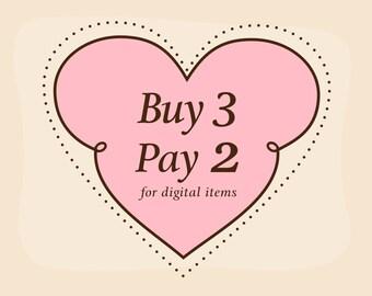 Buy 3 Pay 2 Coupon Code