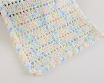 Security Blanket for Child, Baby Blanket 24x24, Blankie Variegated