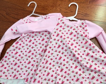3-6 months dress RB Roses