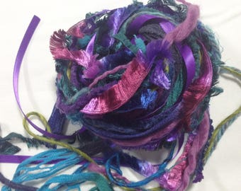 Art Yarn Bundle - Magical Forest,  Weaving, Art Yarn