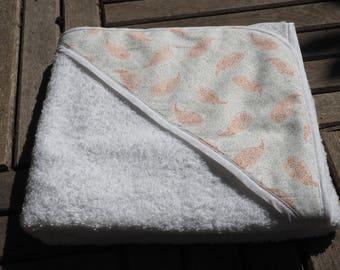 100% cotton bath Cape