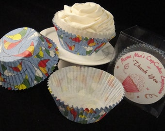 Sails and Surboard Cupcake Liners