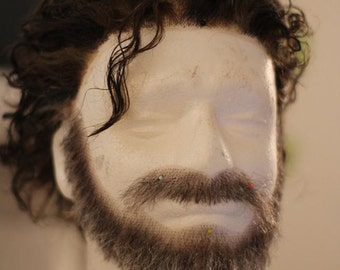 Costum Order Rick Grimes Wig and Beard The walking Dead TwD