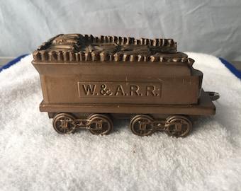 Vintage Banthrico Coin Bank -  Coal Car  (BTC 28)