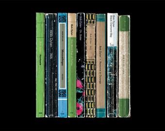 Bob Dylan 'Desire' Album As Books Poster Print - Literary Music Poster - Home Decor - Penguin Book Poster - Gift