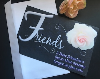 Best Friends Greeting Card | Birthday Card | Just because Card