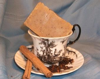 Chai Tea Spice Clove Orange Goat Milk Soap Essential Oil Vegetarian