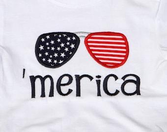 Children's patriotic shirt