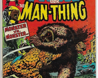 MARVEL Two-In-One #1-Fantastic Fours the THING-1976 series