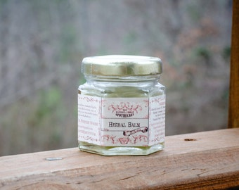 All Purpose Herbal Balm, Healing Salve, Healing Balm, All Purpose Herbal Salve , 1.5oz glass jar - Handmade by The Natural Choice Apothecary